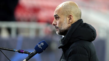 Pep Guardiola denkt noch nicht ans Champions-League-Endspiel