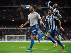 Espanyol erzielt kurz vor Schluss noch das 2:2 bei Real Madrid