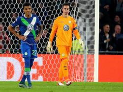 Luiz Gustavo (l.) und Diego Benaglio sind fraglich