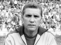 Ernst Ocwirk während seiner Trainertätigkeit beim 1. FC Köln