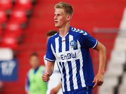 Niklas Hoffmann erhält einen langfristigen Vertrag beim KSC