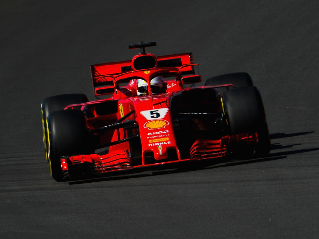 Sebastian Vettel fand es nützlich, beim Test das Rennen zu re-analysieren