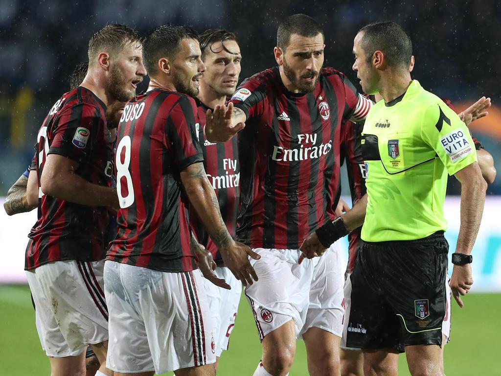 AC Mailand vor Ausschluss aus der Europa League?
