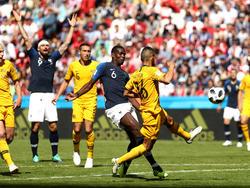 Paul Pogba traf zum glücklichen 2:1 für die Franzosen