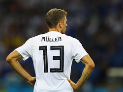 Thomas Müller ist bei der WM noch auf der Suche nach seiner Form