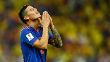 Für James Rodríguez ist die WM vorzeitig beendet