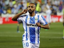 El Zhar evitó la victoria de la Real con un doblete. (Foto: Getty)