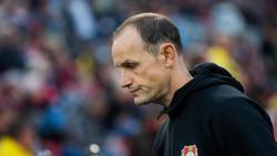 Steht in Leverkusen mächtig unter Druck: Trainer Heiko Herrlich
