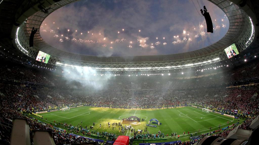 Frankreich wurde in Russland Weltmeister