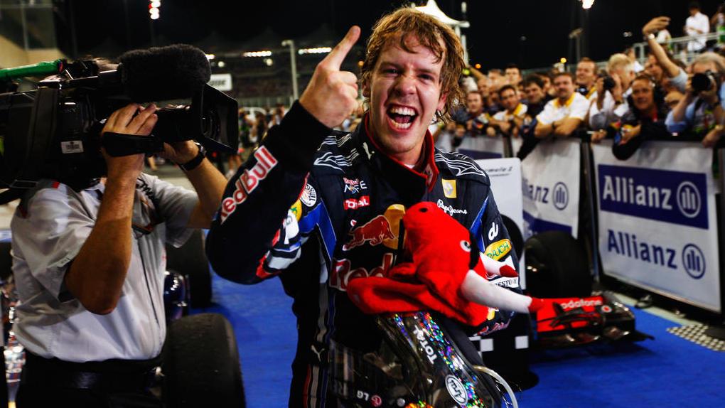 Sebastian Vettel kürte sich 2010 erstmals zum Formel-1-Weltmeister