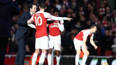 Mesut Özil kehrte beim FC Arsenal zurück in die Startelf