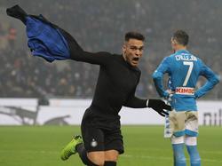 Lautaro Martínez marcó en el tiempo extra del partido. (Foto: Getty)