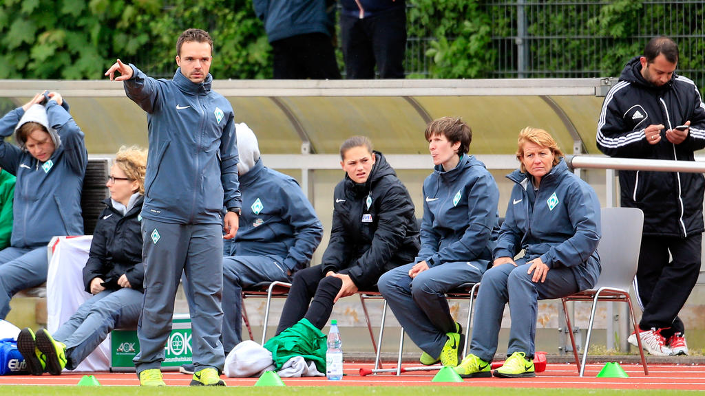 Alexander Kluge wird im Sommer Trainer der Werder-Frauen
