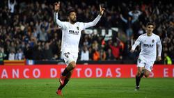 Garay marcó el segundo gol del Valencia y Mestalla se volvió loco. (Foto: Getty)