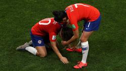 Chile erlebte im letzten Gruppenspiel ein Drama