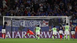 Den französischen Siegtreffer erzielte Wendie Renard per Foulelfmeter im zweiten Versuch