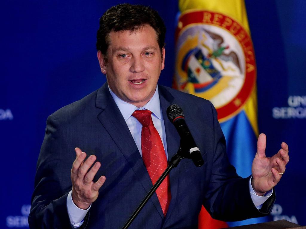 Conmebol-Präsident Alejandro Domínguez und sein Präsident haben das Copa-Finale abgesagt