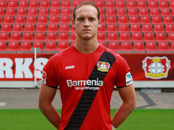 Niklas Lomb ist dritter Keeper bei Bayer