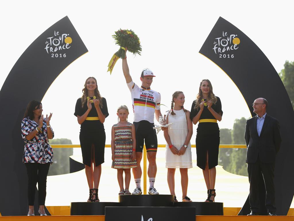 André Greipel will seinen dritten Sieg bei der Schlussetappe der Tour