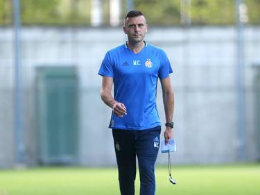 Mario Cvitanovic en entrenamiento del Dinamo de Zagreb. (Foto: Imago)