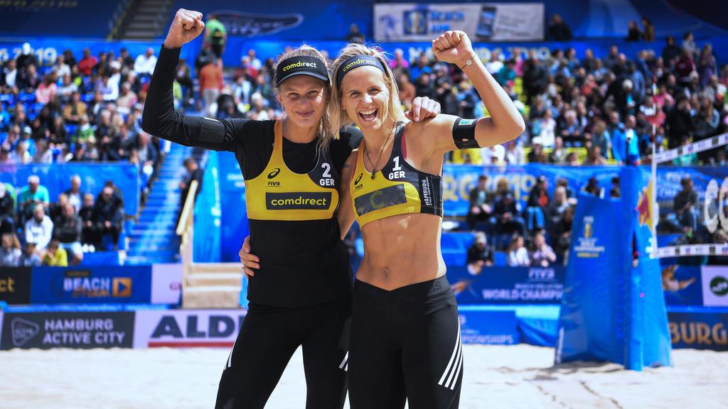 Laura Ludwig und Margareta Kozuch haben den lang ersehnten Titel gewonnen