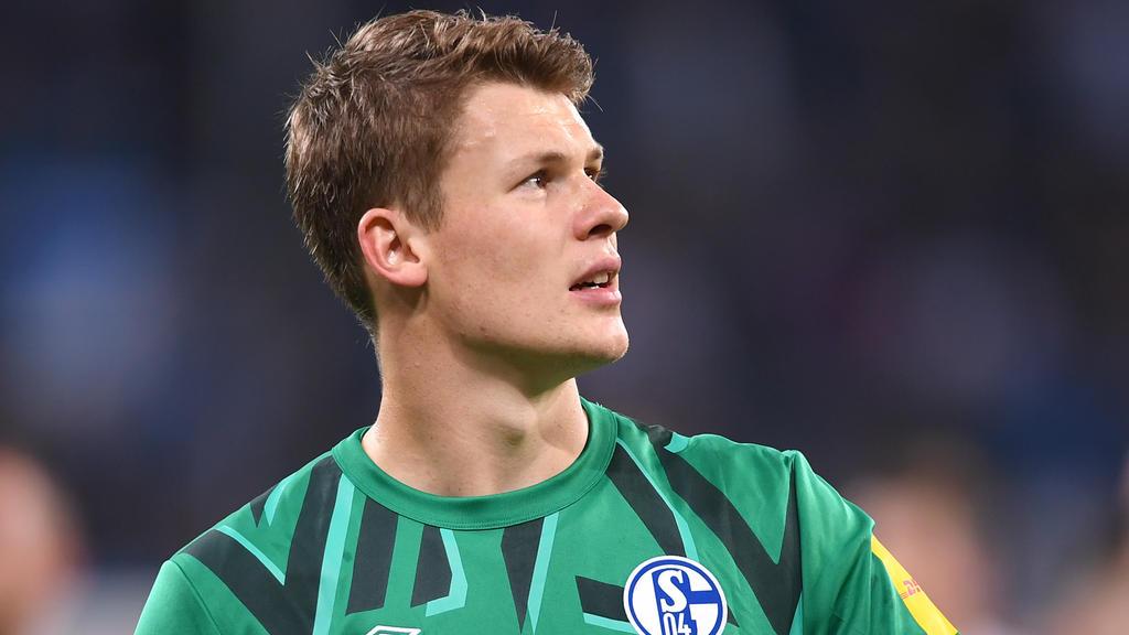 Alexander Nübel vom FC Schalke 04 sah sein Team trotz der Pleite dominant