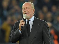 Napoli-Präsident Aurelio De Laurentiis poltert
