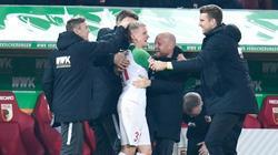 Erzielte zwei Tore gegen Fortuna Düsseldorf: Augsburgs Philipp Max