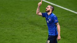 Ältester Spieler, der je in einem EM-Finale getroffen hat: Leonardo Bonucci