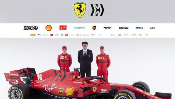 """Mattia Binotto (M.) verspricht einen """"extremen"""" neuen Ferrari"""
