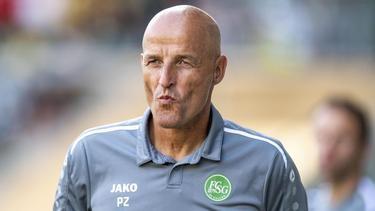 Befürchtet Spiele unter Ausschluss der Öffentlichkeit: St. Gallens Trainer Peter Zeidler