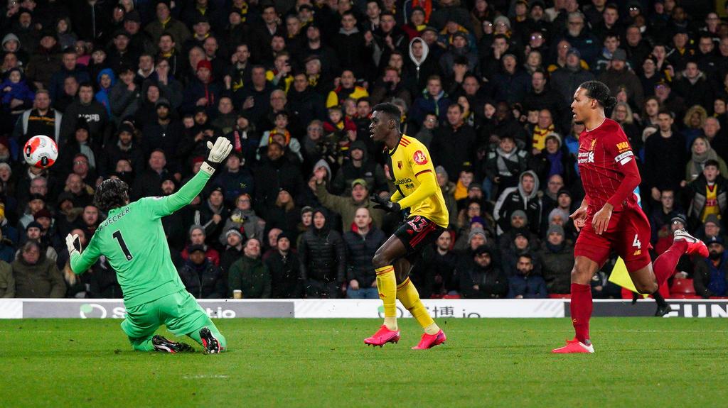 非洲球员在欧洲:萨尔火花作为沃特福德击晕利物浦