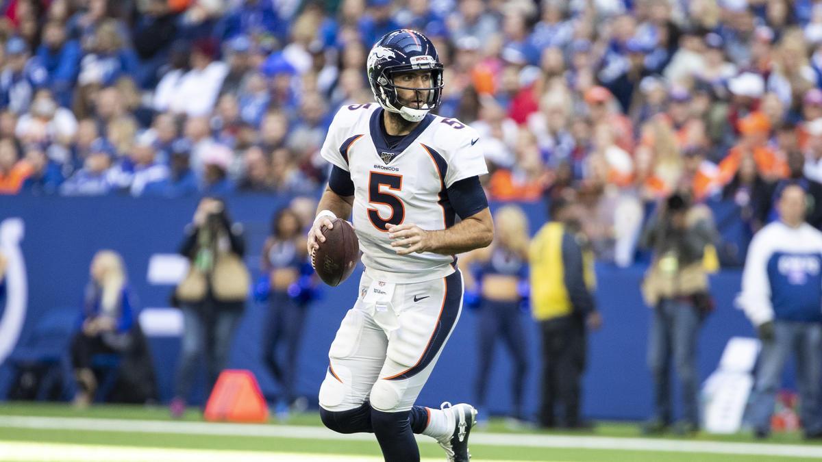 Joe Flacco spielt nicht mehr für die Broncos