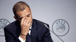 Aleksander Ceferin muss neue Termine für die Europapokal-Spiele finden