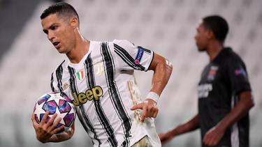 Zwei Tore von Cristiano Ronaldo reichten Juve nicht zum Weiterkommen