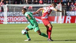Die Würzburger Kickers und Greuther Fürth teilten sich die Punkte