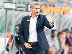 Rapid-Coach Kühbauer warnt vor dem WAC