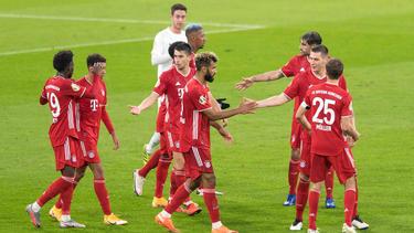 Der FC Bayern setzte sich gegen den FC Düren durch