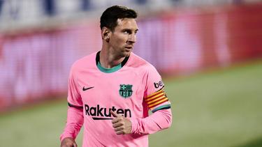 Kann Lionel Messi dem FC Barcelona aus der Krise verhelfen?