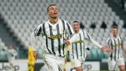 Cristiano Ronaldo traf gegen Cagliari Calcio doppelt