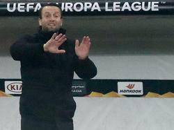 Ferdinand Feldhofer will mit seinem Team auch in der Bundesliga wieder auf die Erfolgsspur