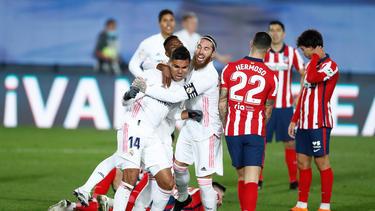 Real Madrid hat das Derby gegen Atlético für sich entschieden