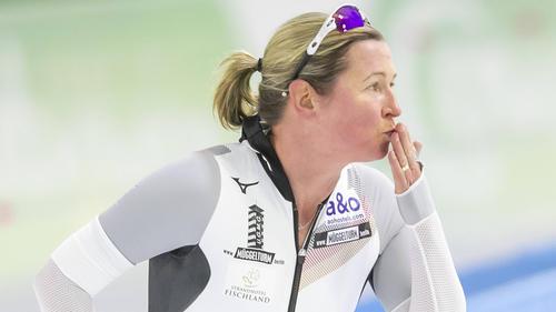 Claudia Pechstein kämpft mit Rückenproblemen