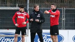 Markus Gisdol (M.) schätzt die Arbeit der letzten Jahre bei Eintracht Frankfurt