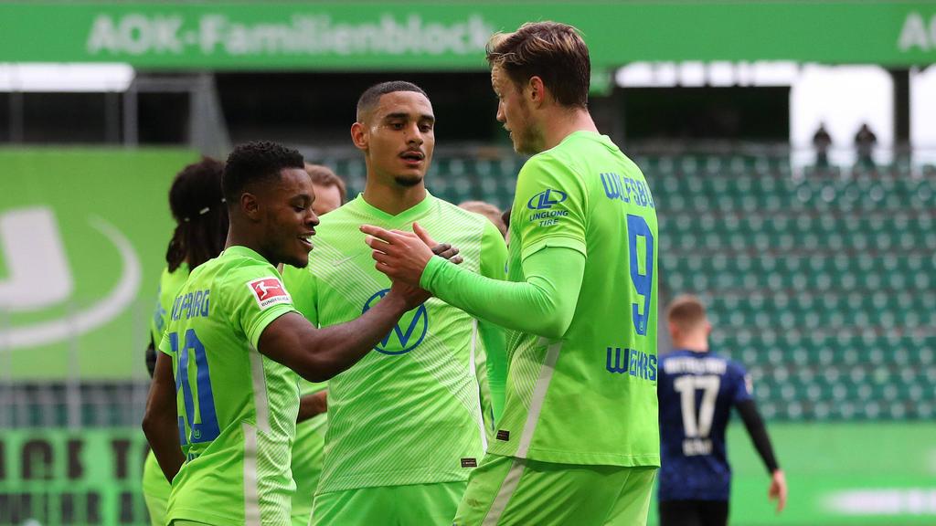Wolfsburg holte drei hart erkämpfte Punkte gegen die Hertha