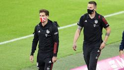 Die Verträge von Leon Goretzka (l.) und Niklas Süle beim FC Bayern laufen 2022 aus