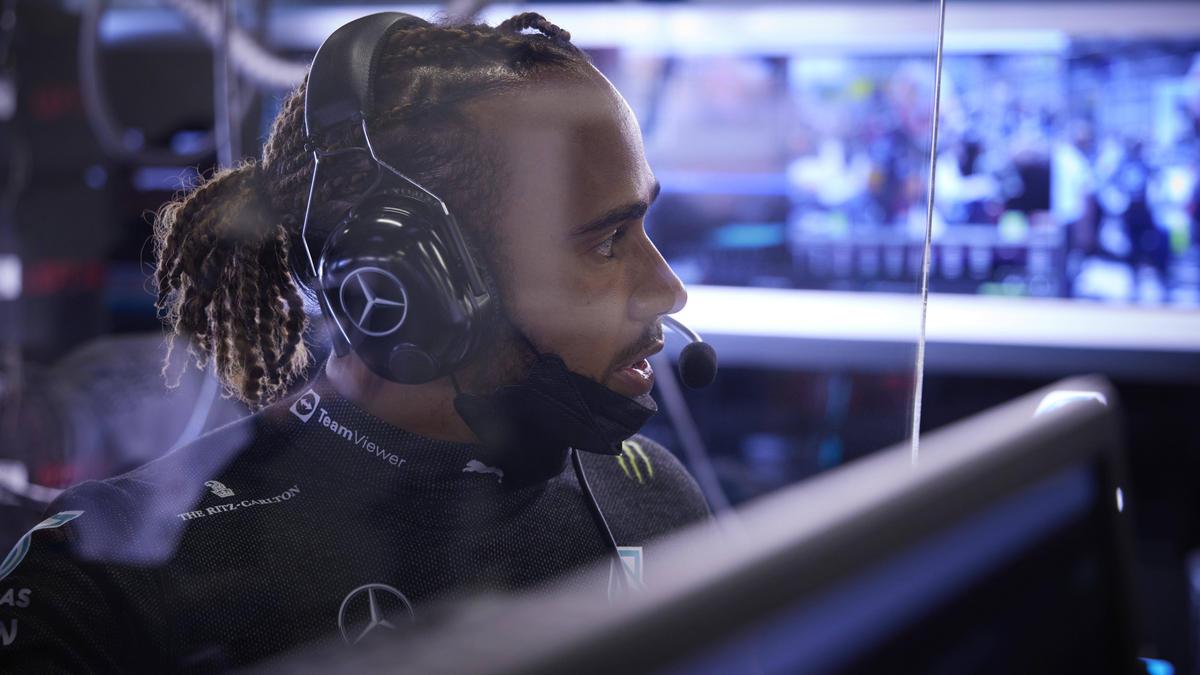 Lewis Hamilton sieht Mercedes aktuell im Hintertreffen