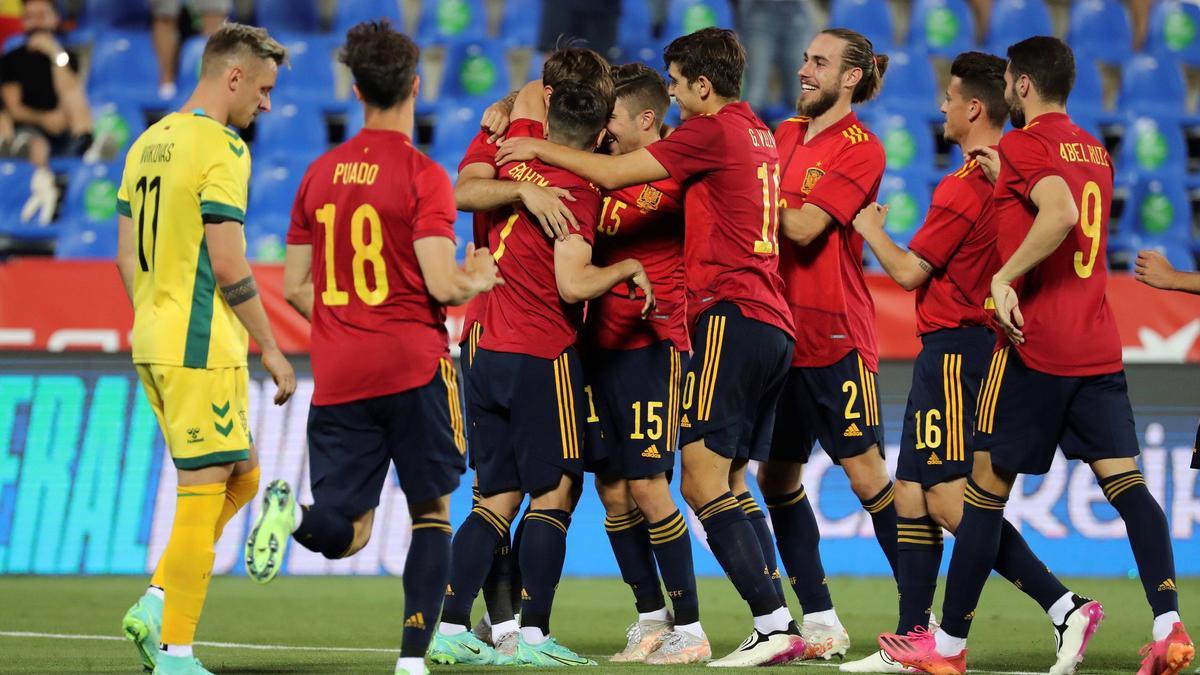 Spanien siegte mit einem kurzfristig zusammengestellten U21-Team