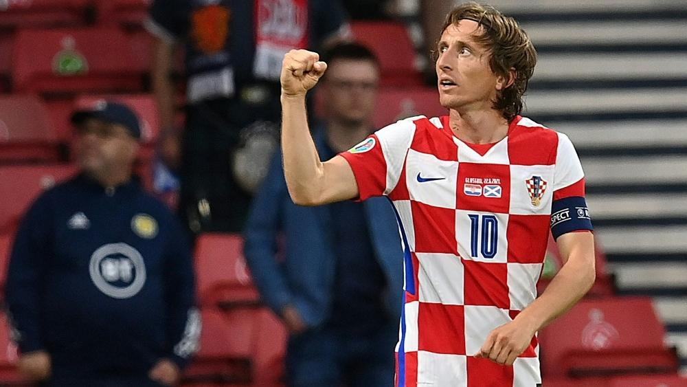 Modric ebnete den Kroaten den Weg ins Achtelfinale