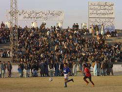 Fußballspiel in Kabul